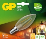 gp led kaars Filament 2w e14 (25w) warm wit licht