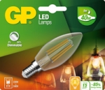 gp led kaars dimbaar Filament 5w e14 (40w) warm wit licht