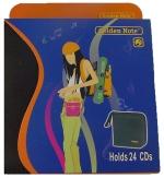 GN CD wallet opbergbox 24 cd zwart