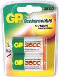 GP Hi-Power NI-MH C-cell 3500mAh