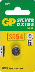 SR54 horloge knoopcel