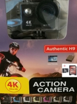 Action Camera  4K Ultra HD Wi-Fi Waterproof + Micro SDHC 32GB (gratis verzending)