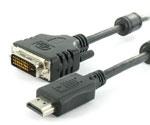 Monitor HDMI naar DVI kabel 10.00 m.