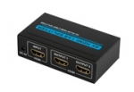 HDMI verdeler voor 2 beeldschermen 4K Ultra HD