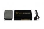 3-poorts HDMI splitter/switch Ultra Full HD 4K, PS4 geschikt, met afstandsbediening