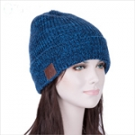 Bluetooth beanie muts blauw dames/heren