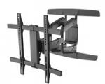 Curved muur beugel zwart (32-65inch) draaibaar HP40  CL Mywall