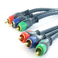 High End component video kabel 5.00 m.