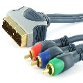 High End component video kabel 15.00 m.