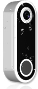 Compacte deurbel smart met video camera en intercom geluid draadloos