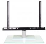 Cavus TV tafelstandaard draaibaar medium 37-42 transparant