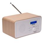 Denver DAB-30 Light Wood Digitale DAB en FM  radio met FM en Klok en alarm