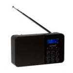 Denver DAB-33 Digital Radio zwart