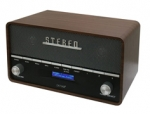 Denver DAB-36 hout DAB+ FM digital radio met Bluetooth