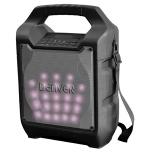 Denver TSP-205 draagbare 20W speaker box bluetooth met Led lichteffecten