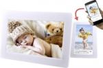 Golden Note 10.1 inch 16GB DPF-1014 digitale Frameo app fotolijst wit