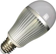 Wifi LED lamp full colour RGBW 9W E27