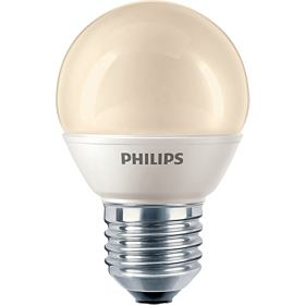 PHILIPS SPAARLAMP KOGEL FLAME 8W E27