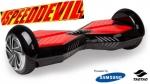 Tegno parts Speeddevil Bluetooth  Hoverboard zwart 8.0 inch 700W met Samsung batterij
