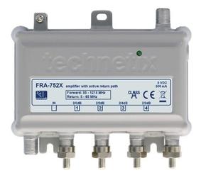 FRA-752X 1218 MHz Ziggo geschikt antenne coax versterker (nieuwste 2018 model)