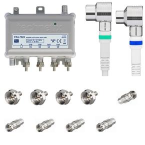FRA-752X 1218 MHz antenneversterker installatiepakket
