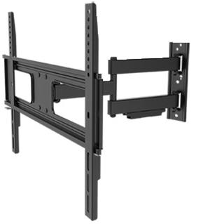 TV muur beugel zwart (37-70 inch)  draaibaar H25-2 Mywall