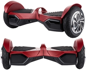Hoverboard Bluetooth Destroyer Rood 8.5 inch 700W samsung accu