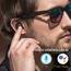 Jabees Zwart Bluetooth In-ear True Wireless Inwendig met Oplaadcase